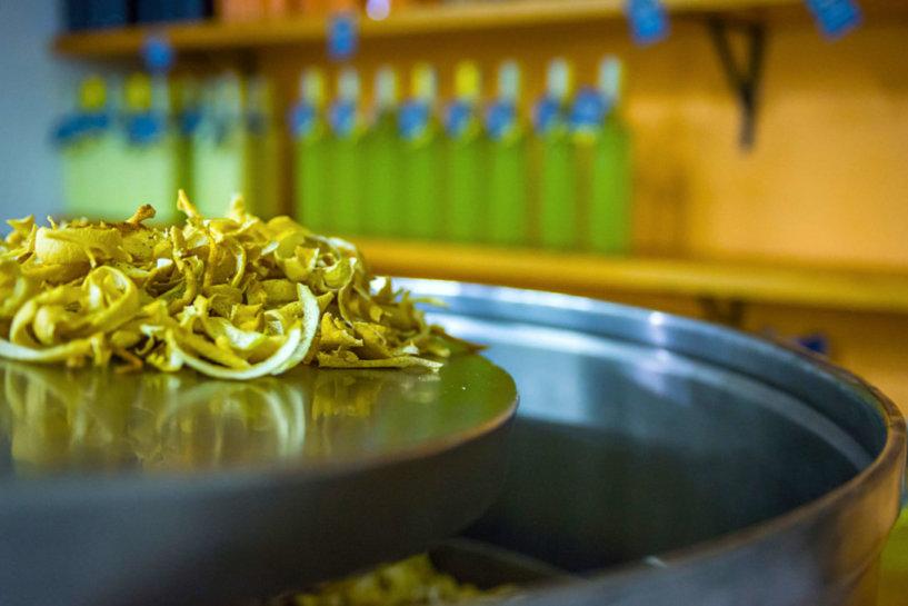 preparazione limoncello